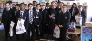 World Book Day trip to Bradford Library to meet author Margaret Mulligan